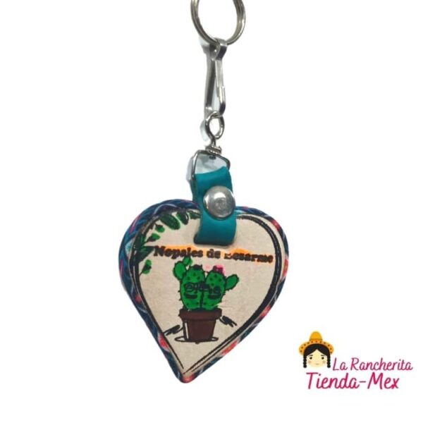 Llavero Corazón Serigrafia | Tienda Mex