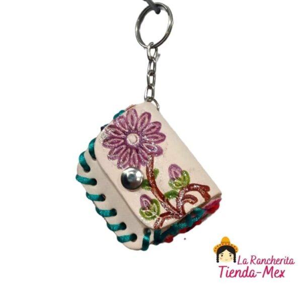 llaveros artesanales mexicanos