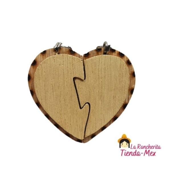 Llavero Corazón Partido | Tienda Mex