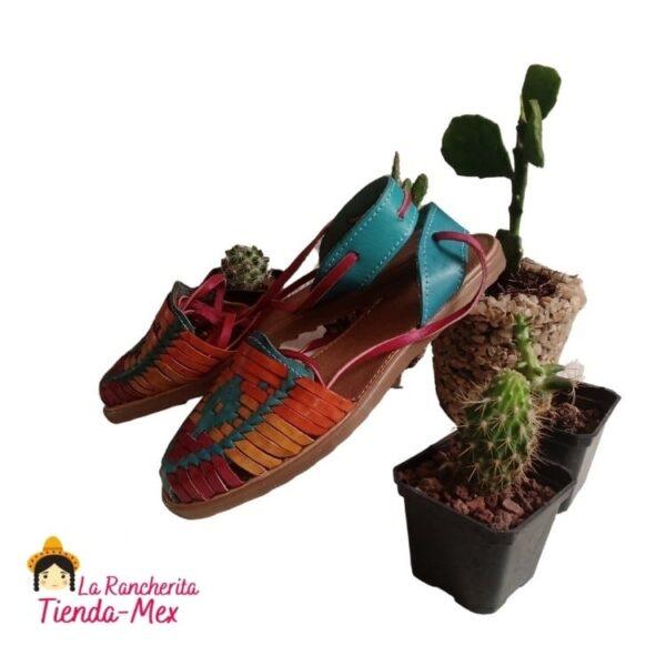 Huarache P/Dama Mod 0022 | Tienda Mex