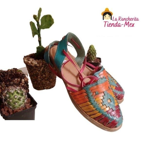 Huarache P/Dama Mod 5010   Tienda Mex