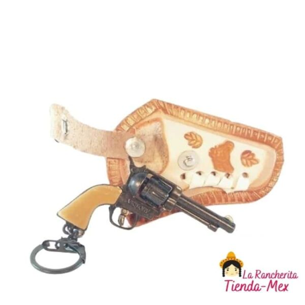 Llavero funda con pistola chica | Tienda Mex