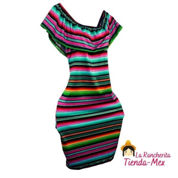 Vestido Mexicano moderno   Tienda Mex