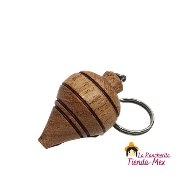 Llavero Trompo Natural | Tienda Mex