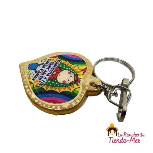 Llavero Corazon Imagen | Tienda Mex