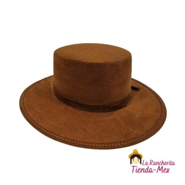 Sombrero De Gamuza | Tienda Mex