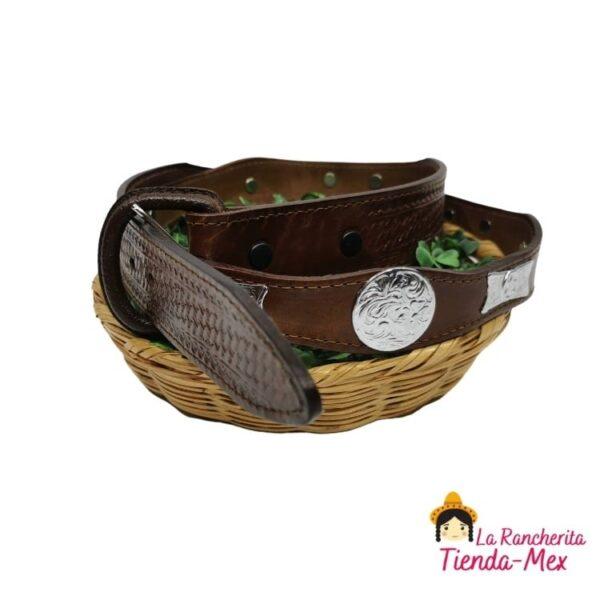 Cinturon Concho Con Hueso   Tienda Mex