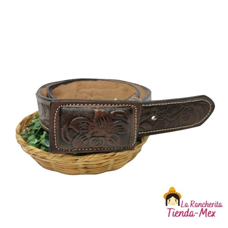 Cinturon Concho Pelo | Tienda Mex