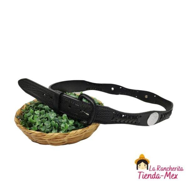 Cinturon Concho Con Tejido | Tienda Mex