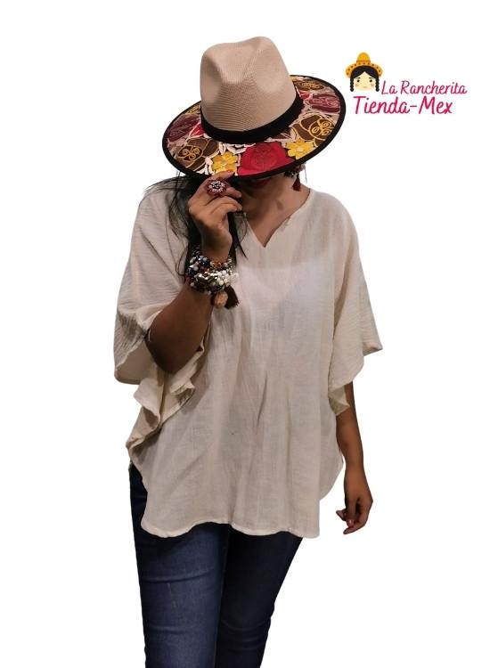 Sombrero Bordado   Tienda Mex