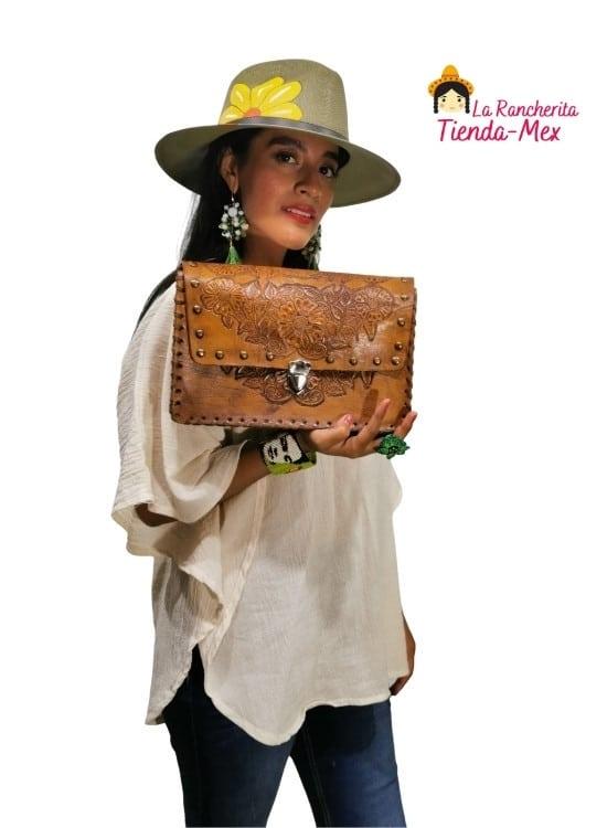 Bolsa Hebilla Rectangular | Tienda Mex