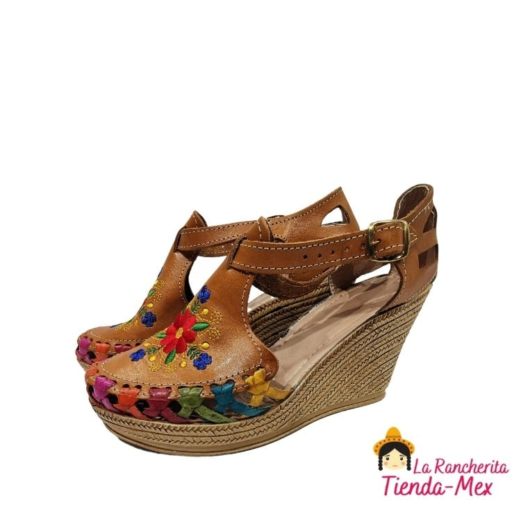 Huarache P/Dama Mod 8012 | Tienda Mex