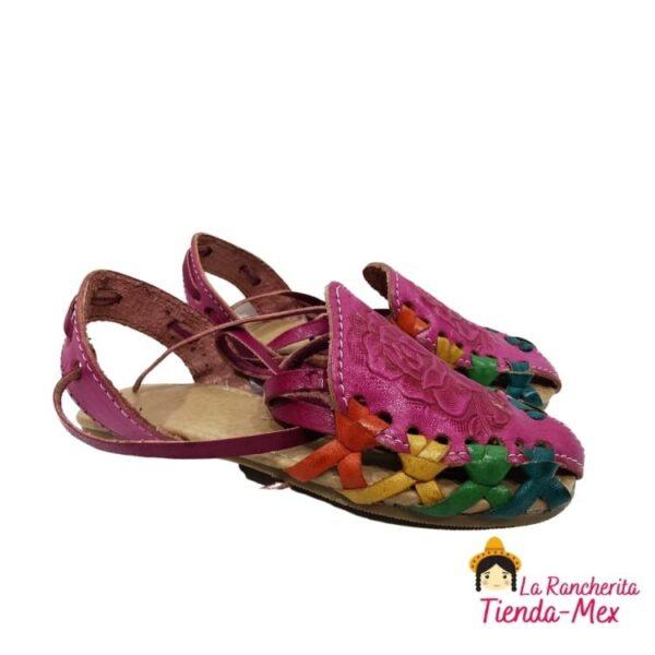 Huarache P/Niña Mod 0003 | Tienda Mex